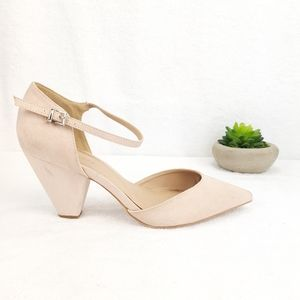 ASOS ANKLE STRAP POINTED SHOES